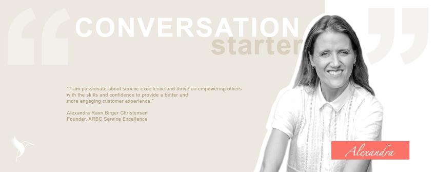 Conversation Starter Series Alexandra ARBC Service Excellence