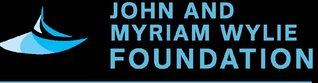 john and myriam wylie foundation dark logo